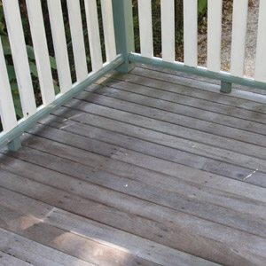 Timber Deck Before Cleaning Part 74